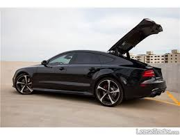 audi rs7 lease audi rs7 4 0 tfsi sedan car lease
