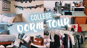 college dorm tour florida atlantic university youtube