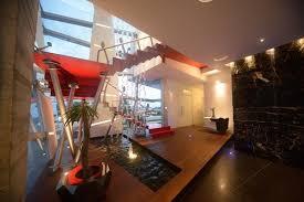 Modern Stairs Design Indoor Villa Fabulous Gomez Residence Interior Decor With Modern