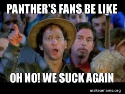 Panthers Suck Meme - panther s fans be like oh no we suck again make a meme