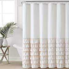 Ruffle Shower Curtain Uk - pale pink shower curtain uk curtain menzilperde net