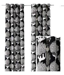 Black And White Thermal Curtains Black And White Curtains Curtains Black And White Thermal Curtain