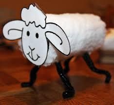 sheep toilet roll craft preschool crafts for kids