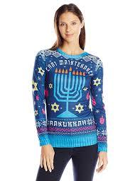 light up hanukkah sweater faux real women s chai maintenance hanukkah sweater long sleeve t