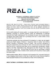 world no 1 home theater company reald visual technology