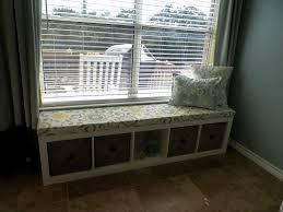 Under Window Storage by Interior Gorgeous Bay Window Seat Plan Design Inspiration With