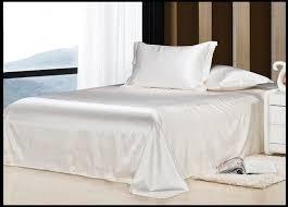 Ivory Duvet Cover King Aliexpress Com Buy Luxury Ivory Cream White Silk Bedding Set