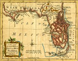 Map East Coast Florida by Maps The Florida Memory Blog