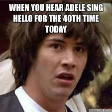 I Can T Even Meme - 28 adele hello meme pictures because you really didn t hear that