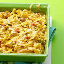 cajun thanksgiving cajun chicken pasta bake recipe taste of home