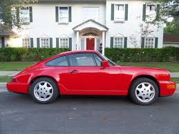 1990 porsche 911 carrera 2 1990 porsche 911 carrera 4 coupe red black original paint for sale