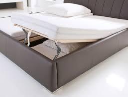 Wohnzimmertisch Zum Hochklappen Polsterbett Luanos 180x200cm Weiß Lattenrost Klappbar Doppelbett