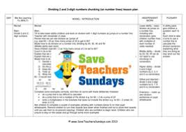 chunking on a number line worksheets lesson plans model guide