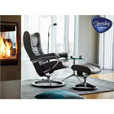 stressless wing recliner tema contemporary furniture
