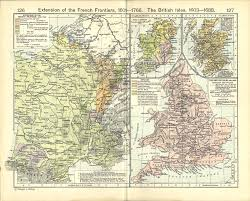Map Of British Isles United Kingdom Maps Perry Castañeda Map Collection Ut Library