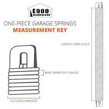 amazon com p736 36 inch plug end garage door spring 177