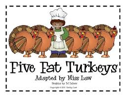 five turkeys free thanksgiving subtraction poem printable