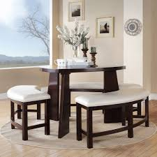 triangle dining room table paradise merlot triangle shaped 4 piece dining set inspire q dining