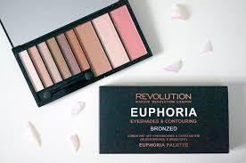 new makeup revolution euphoria bronzed palette thou shalt not