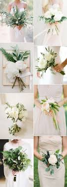 wedding flowers greenery 2017 trends easy diy organic minimalist wedding ideas minimalism