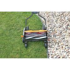 push lawn mower sears greenworks 25052 push reel lawn mower 1 air