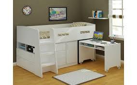 Jupiter Loft Bunk Bed With Desk And Storage - Loft bunk bed with desk