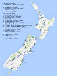 National Parks Road Trip Map 60 Years Journey Singapore Travel Blog 31 Days Road Trip Oceania