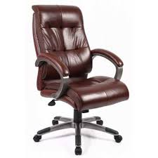 Leather High Back Armchair Catania Managers High Back Chair