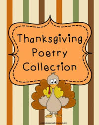 thanksgiving poetry teaching resources teachers pay teachers