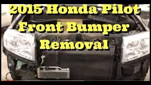 honda pilot bumper 2012 2013 2014 2015 honda pilot how to remove replace install