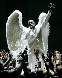 kanye west wears angel wings at grammys photos kanye west u0027s