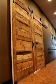best 25 reclaimed wood door ideas on sliding wood