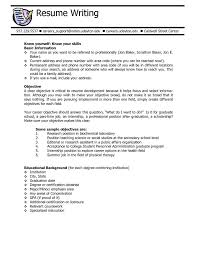 Resume Preparation Sample by Best 25 Good Objective For Resume Ideas On Pinterest Career