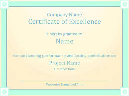 microsoft office certificate templates free employee award certificate of excellence template employee 03 employee award certificate of excellence template