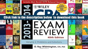 read online wiley cpa examination review 2013 2014 problems and