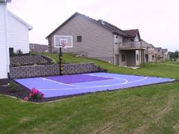Outdoor Basketball Court Cost Estimate by 15 Best Backyard Basketball Court Images On Backyard