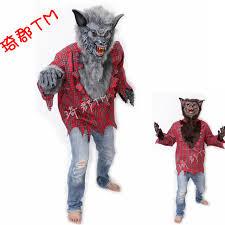 Wolf Halloween Costume Aliexpress Buy Clothing Halloween Costumes Werewolves