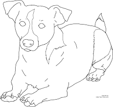 new dog coloring pages jack russell terriers coloring pages blog