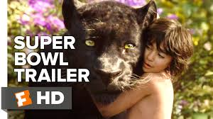 the jungle book official super bowl trailer 2016 scarlett