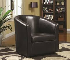 Swivel Club Chair Leather Brown Leather Swivel Chair Steal A Sofa Furniture Outlet Los