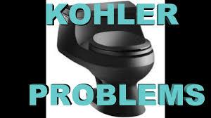 Kohler Quiet Close Toilet Seat Repair Kohler Rialto San Raphael Toilet Problems 84499 1013282 Youtube