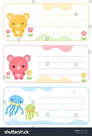 printable name tags name cards stock illustration 327167822