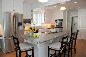 kitchen island with seating and stove window shades sink plus