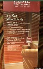Home Decorators Collection Blinds Home Decorators Collection Wood Blinds Golden Oak 2 In Slats