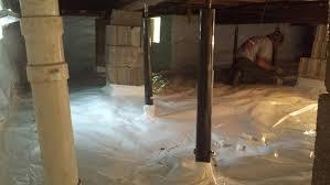 crawl space repair and encapsulation america u0027s basement contractor