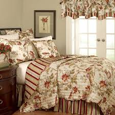 waverly black and white toile bedding home beds decoration