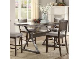Coaster Dining Room Sets Coaster Beckett Rustic Counter Height Dining Table Dunk U0026 Bright