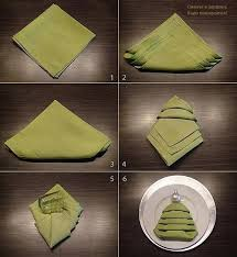 tree napkin folding tutorial pictures photos and