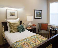 nursing home design trends decorate a nursing home room to create a comfortable cheerful space
