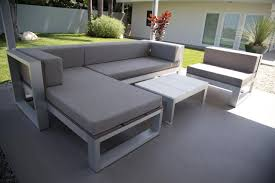 White Modern Outdoor Furniture by Diy Outdoor Sofas By Ana White Create Your Own Garden Furniture